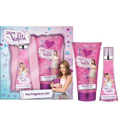Disney Violetta Fragrance Duo Set