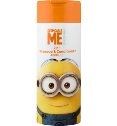 Minions 2-in-1 Shampoo & Conditioner 400ml