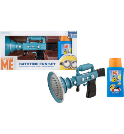 Minions Bathtime Squirter + Bubblebath 125ml