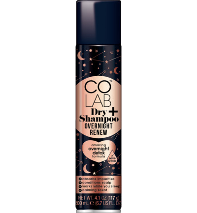Dry shampoo overnight renew