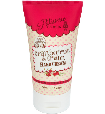 Hand Cream Cranberries & Cream - tube