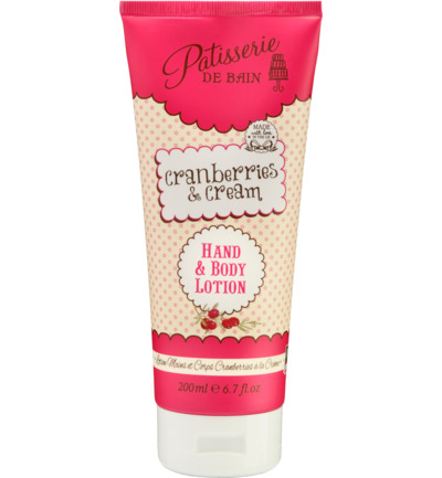 Body Lotion Cranberry Cream