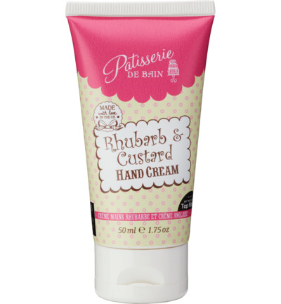 Hand Cream Rhubarb & Custard - tube