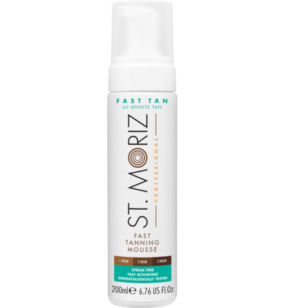 Professional Fast Tan Mousse