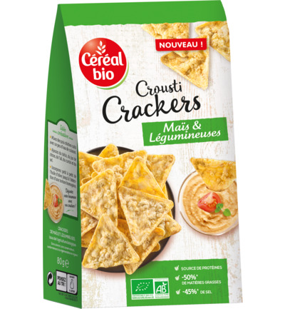 Bio Crousti Crackers