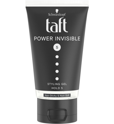 Taft styling power invisible gel