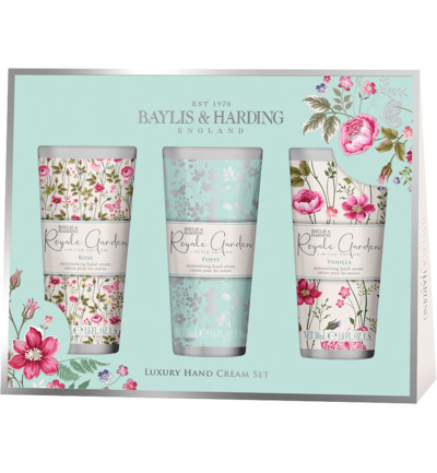 Royale Garden Assorted 3 Hand Cream Set
