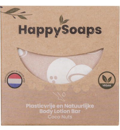 Body Lotion Bar - Coco Nuts