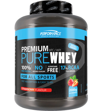 Performance Sports Nutrition Pure Whey Strawberry (2000 Gr)