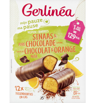 Snackrepen Sinaas & Pure Chocolade  smaak