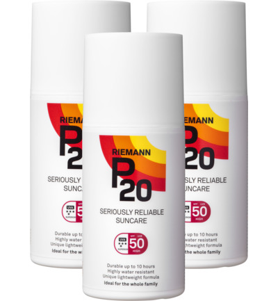 Once a day factor 50 spray trio