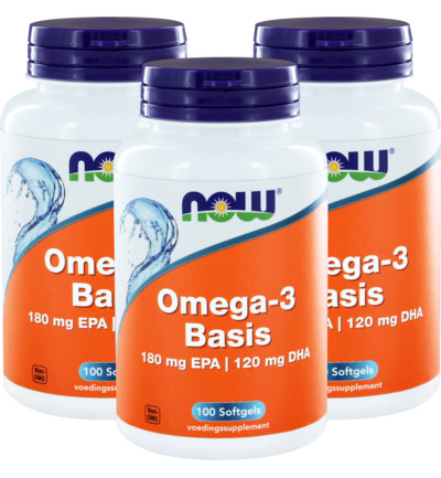 Omega-3 Basis 180 mg EPA 120 mg DHA trio