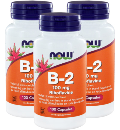 Vitamine B2 100 mg trio