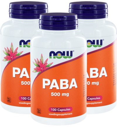 PABA 500 mg trio