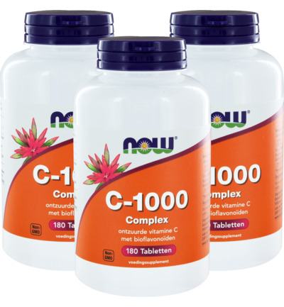 Vitamine C 1000 mg complex trio