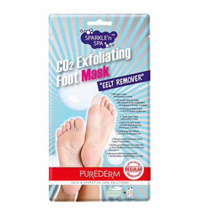 CO2 Exfoliating Foot Mask Eelt Remover