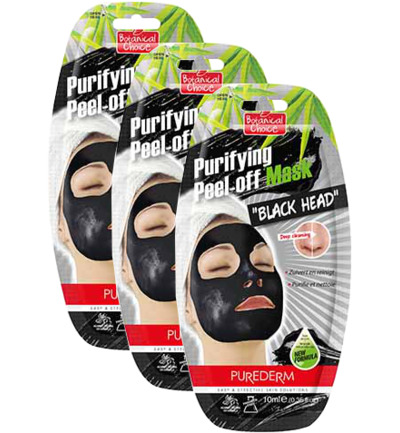 Purifying Peel-off Mask Black Head trio