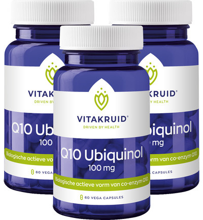 Q10 Ubiquinol 100 mg trio