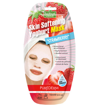 Skin Softening Yoghurt Mask Strawberry