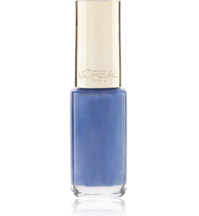 nagellak :  610 - Rebel Blue - Blauw