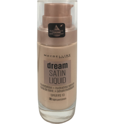 Foundation dream satin liquid 04 light porcelain