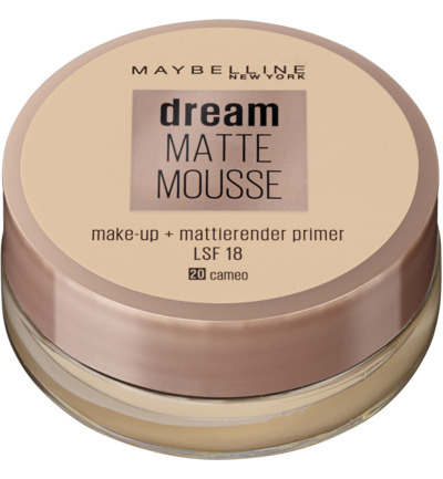 Dream matte mousse cameo 020