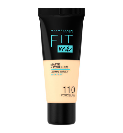 Fit me Matte & Poreless - 110 Porcelain - Foundation