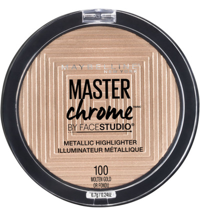 Master Chrome - 100 Molten Gold - Highlighter