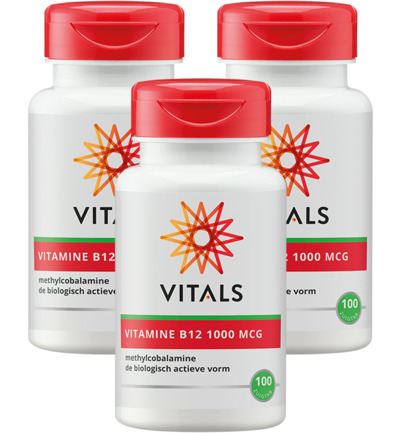 Vitamine B12 methyl 1000 mcg Trio