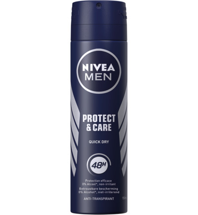 Protect & Care quick dry spray 48h