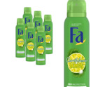 Deodorant spray caribbean lemon 6 pack