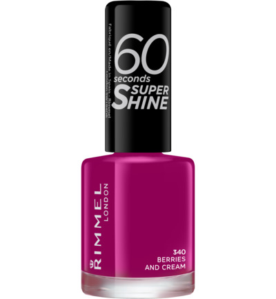 60sec Supershine nagellak : 340 - Berries And Cream