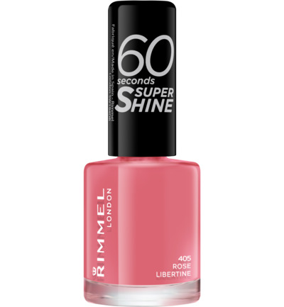 60sec Supershine nagellak : 405 - Rose Libertine