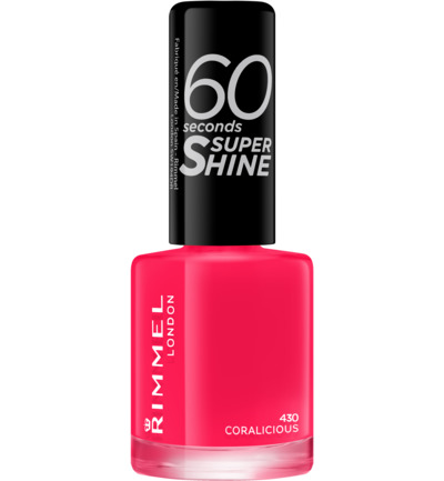 60sec Supershine nagellak : 430 - Coralicious