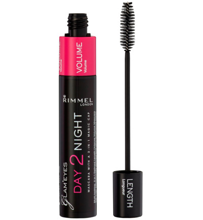 Day2Night mascara : 001 - Black