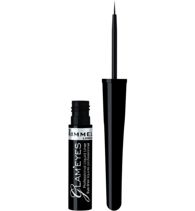 Glam'Eyes Professional eyeliner : 001 - Black Glamour