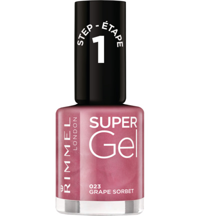 Super Gel nagellak : 023 - Grape Sorbet