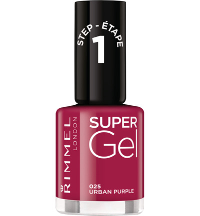 Super Gel nagellak : 025 - Urban Purple