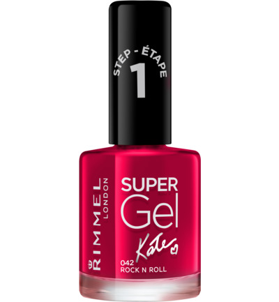 Super Gel Kate nagellak : 042 - Rock 'N Roll
