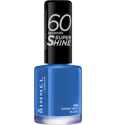 60sec Supershine nagellak : 828 - Danny Boy, Blue!