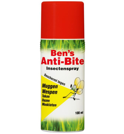 Image of Afterbite Ben's Anti Bite Insectenspray (100ml)