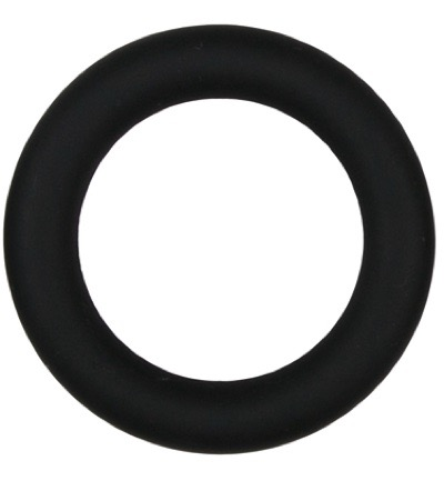 Easytoys Siliconen Cockring Medium - Zwart