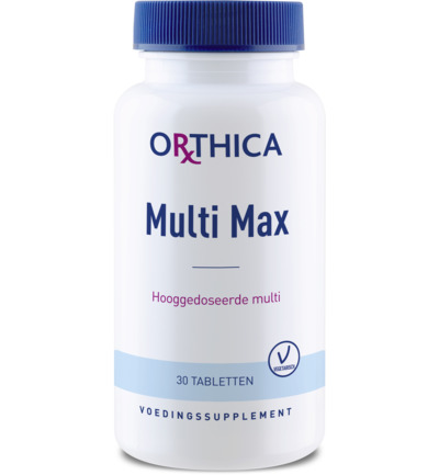 Orthica Multivitamine Max Tabletten 30tabl
