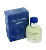 Light blue eau de toilette vapo men