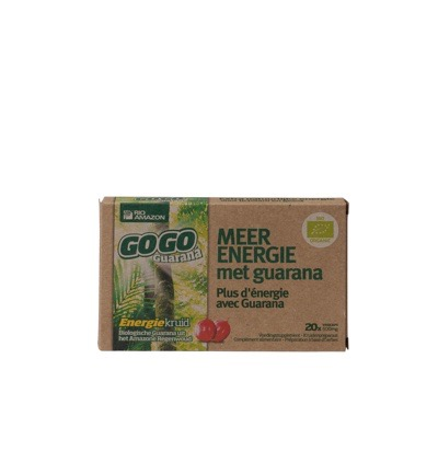 Gogo guarana 500 mg 10 dagen