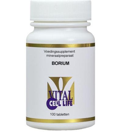 Vital Cell Life Boron - 4 mg Tabletten 100 st