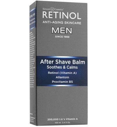 retinol men aftershave balm