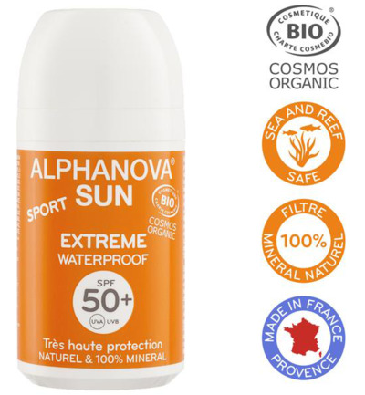 Sun vegan roll on sport SPF50 bio