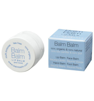 Lip balm organic tea tree