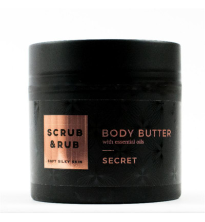 scrub&rub body butter secret